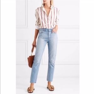 Madewell Perfect Summer High Rise Ankle Jeans 28